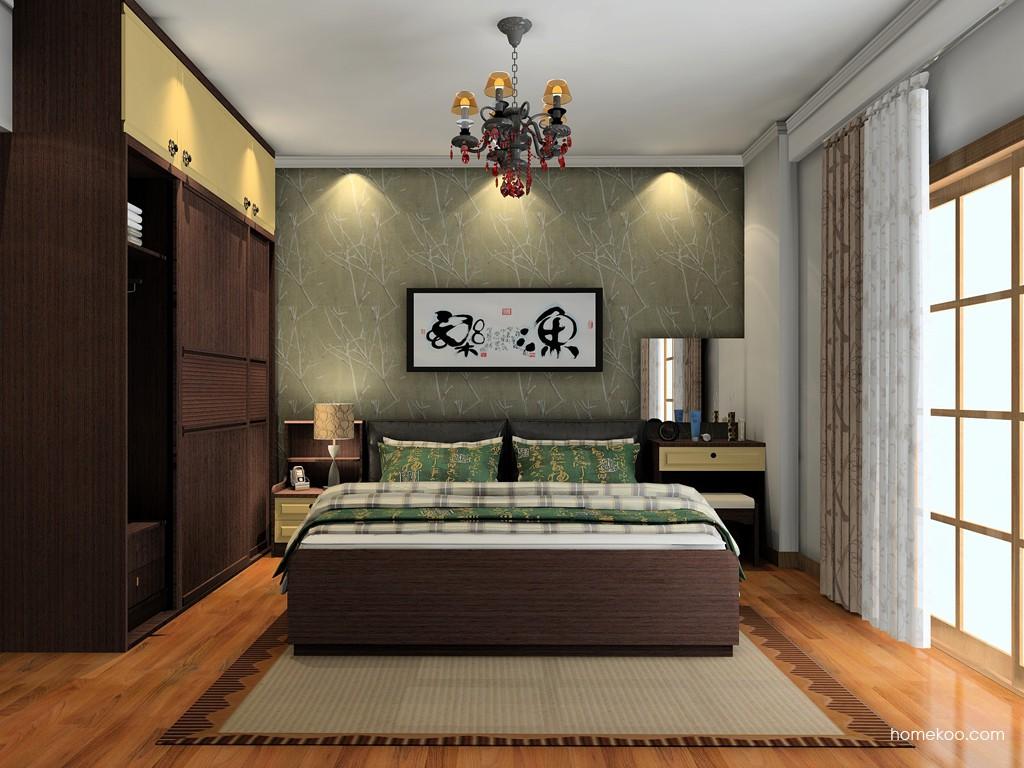 卡罗摩卡卧房家具A19701