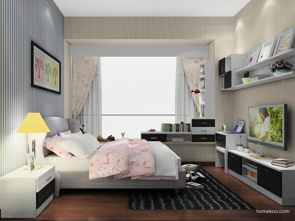 新实用主义卧房家具A19702