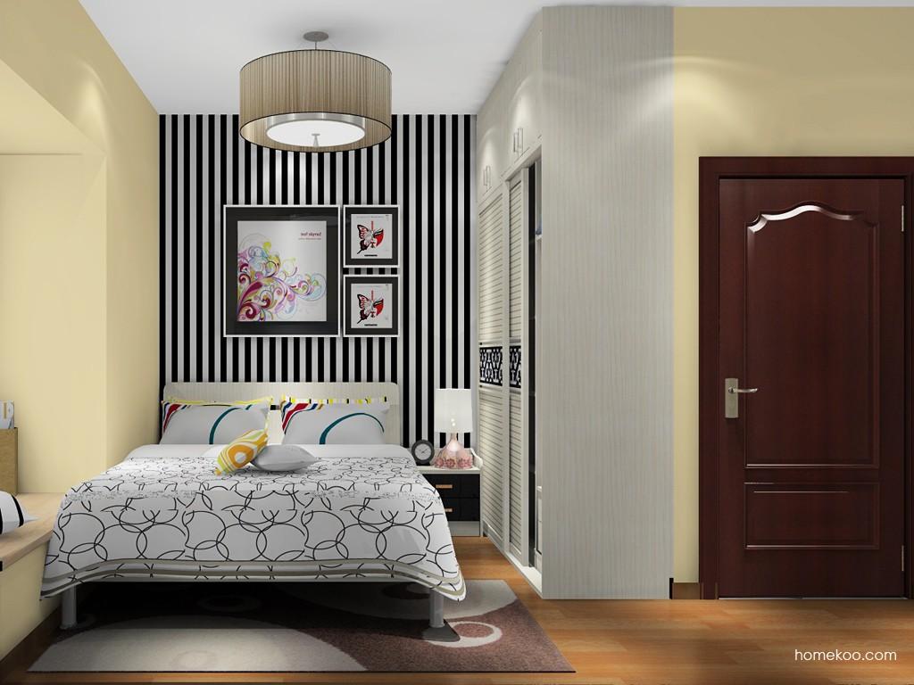 米兰剪影卧房家具A19709