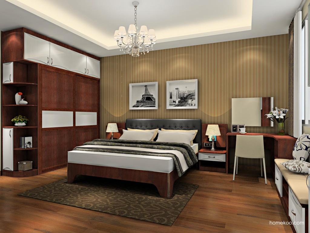 挪威月色卧房家具A19711