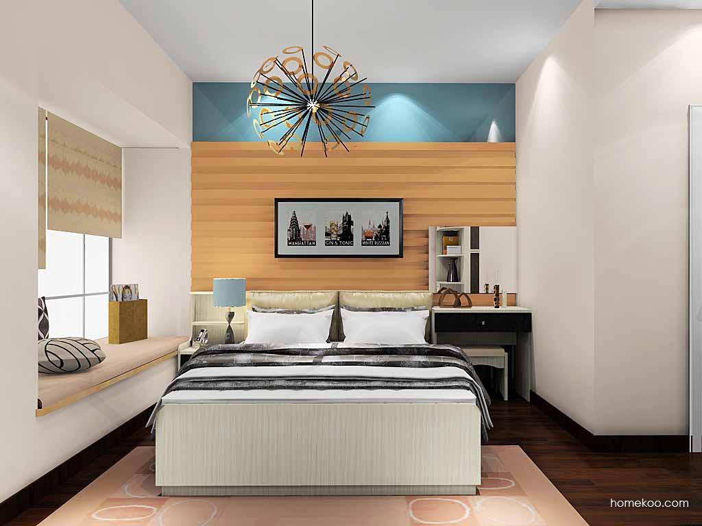 米兰剪影卧房家具A19712