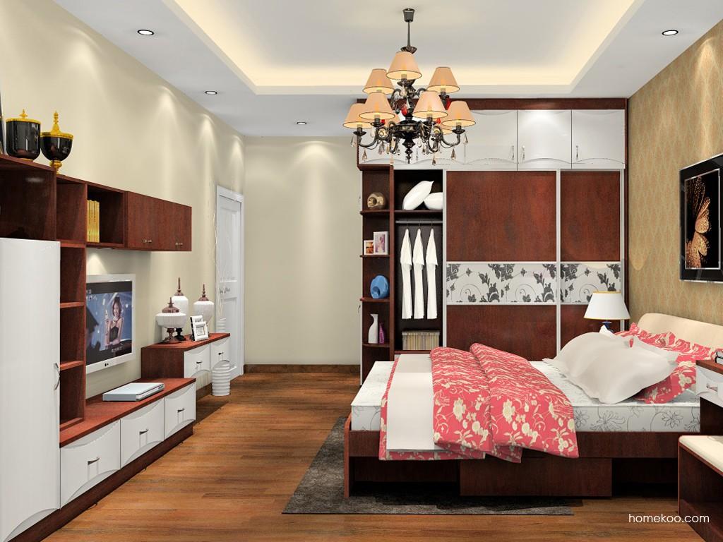 挪威月色卧房家具A19685