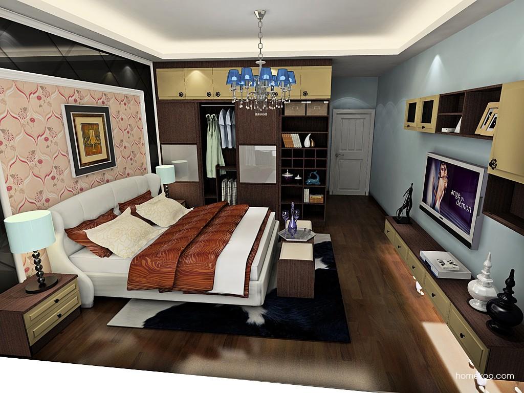 卡罗摩卡卧房家具A19741
