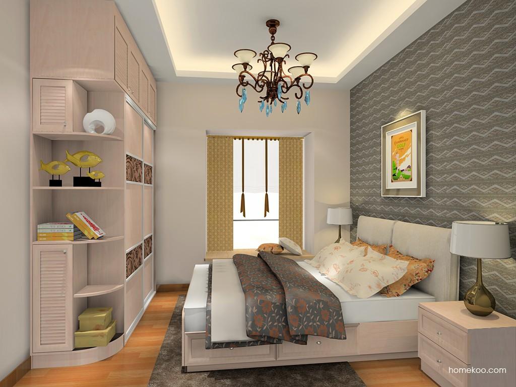 北欧阳光卧房家具A19743
