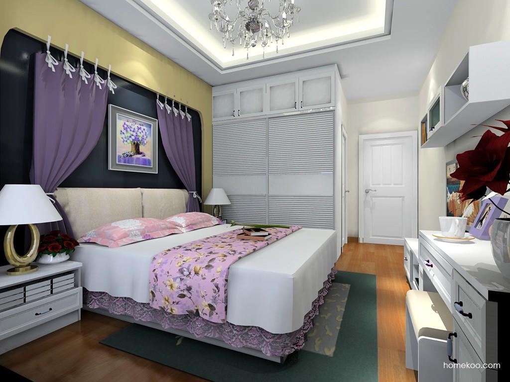 韩式田园卧房家具A19750