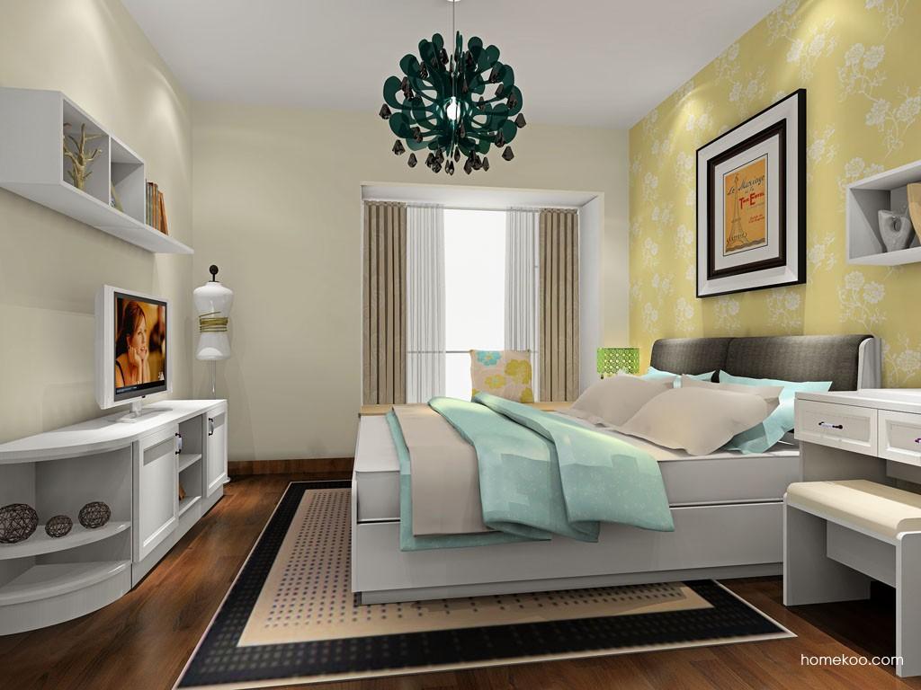 新实用主义卧房家具A19751