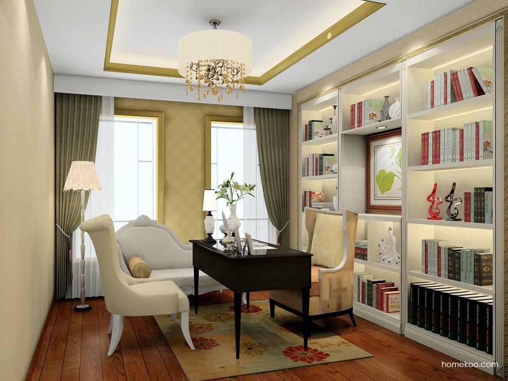 英伦印象书房家具C19527