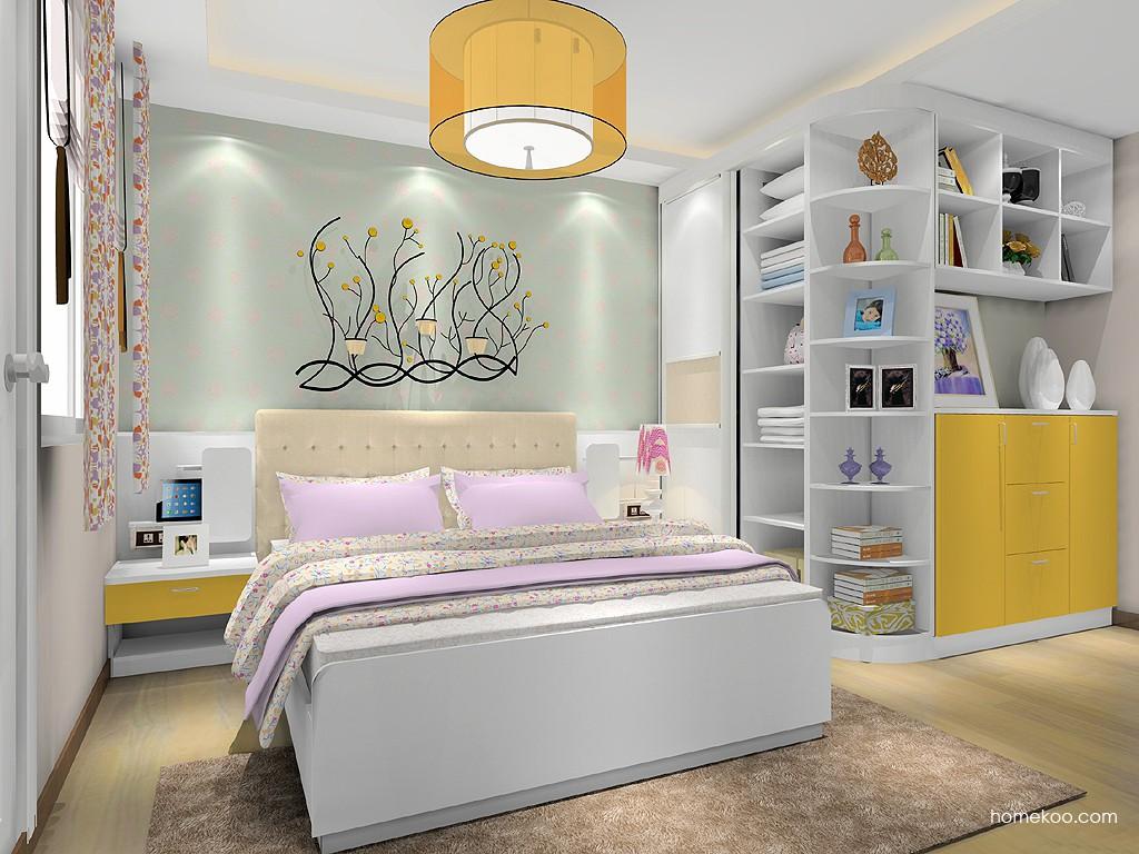 浪漫主义卧房家具A19758