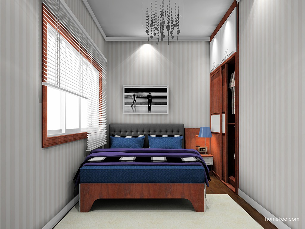 挪威月色卧房家具A19761