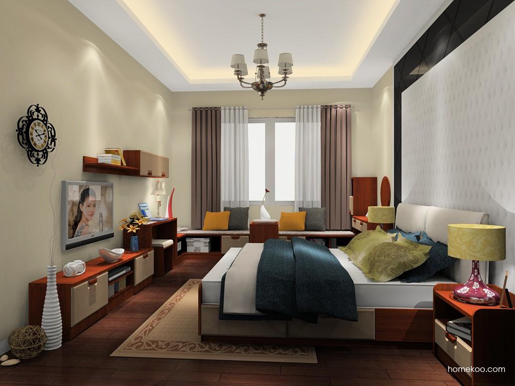 新实用主义卧房家具A19769
