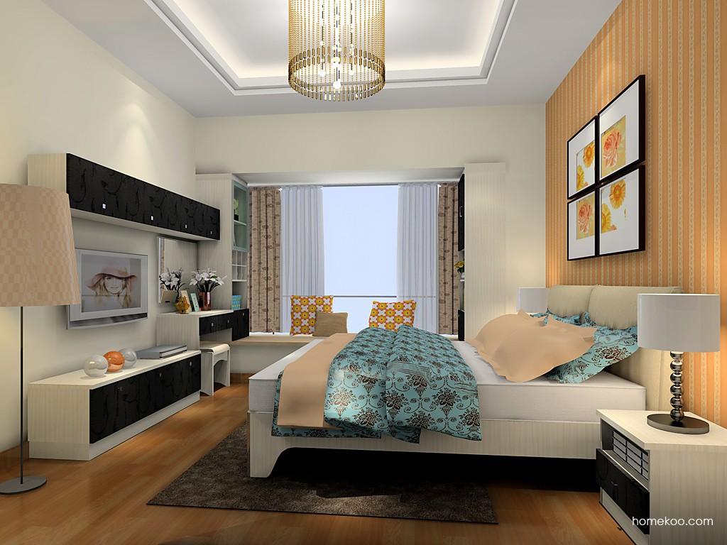 米兰剪影卧房家具A19752