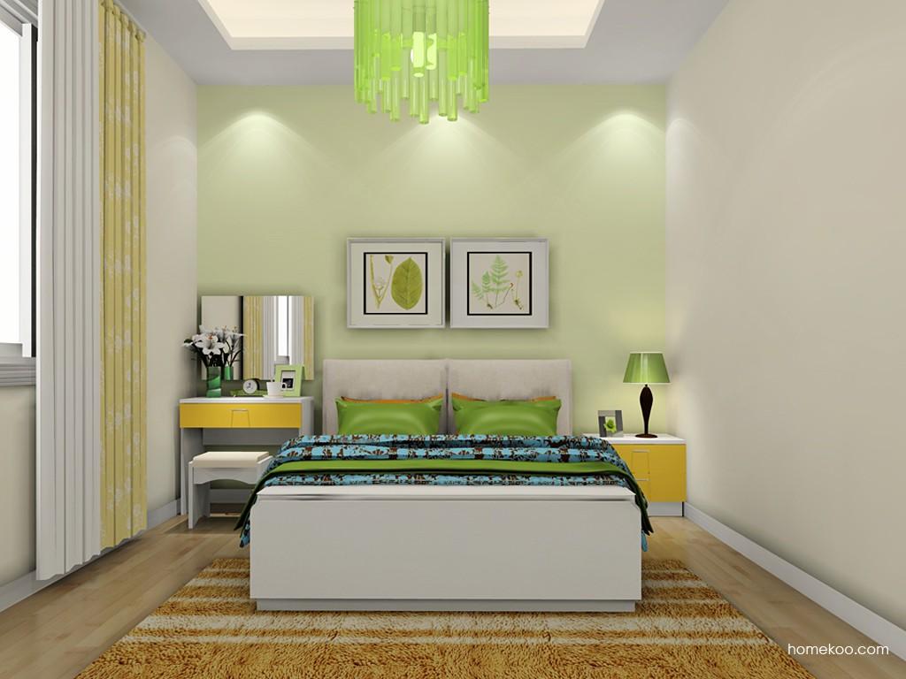 浪漫主义卧房家具A19795