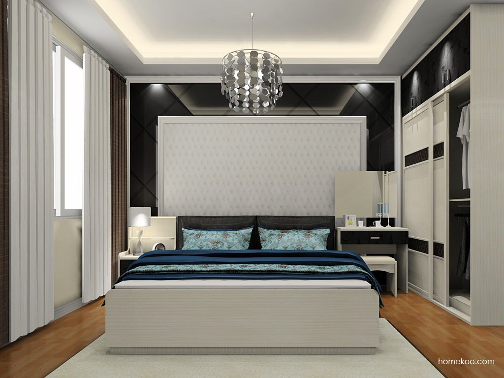 米兰剪影卧房家具A19797
