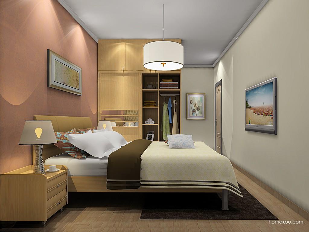 丹麦本色卧房家具A19802