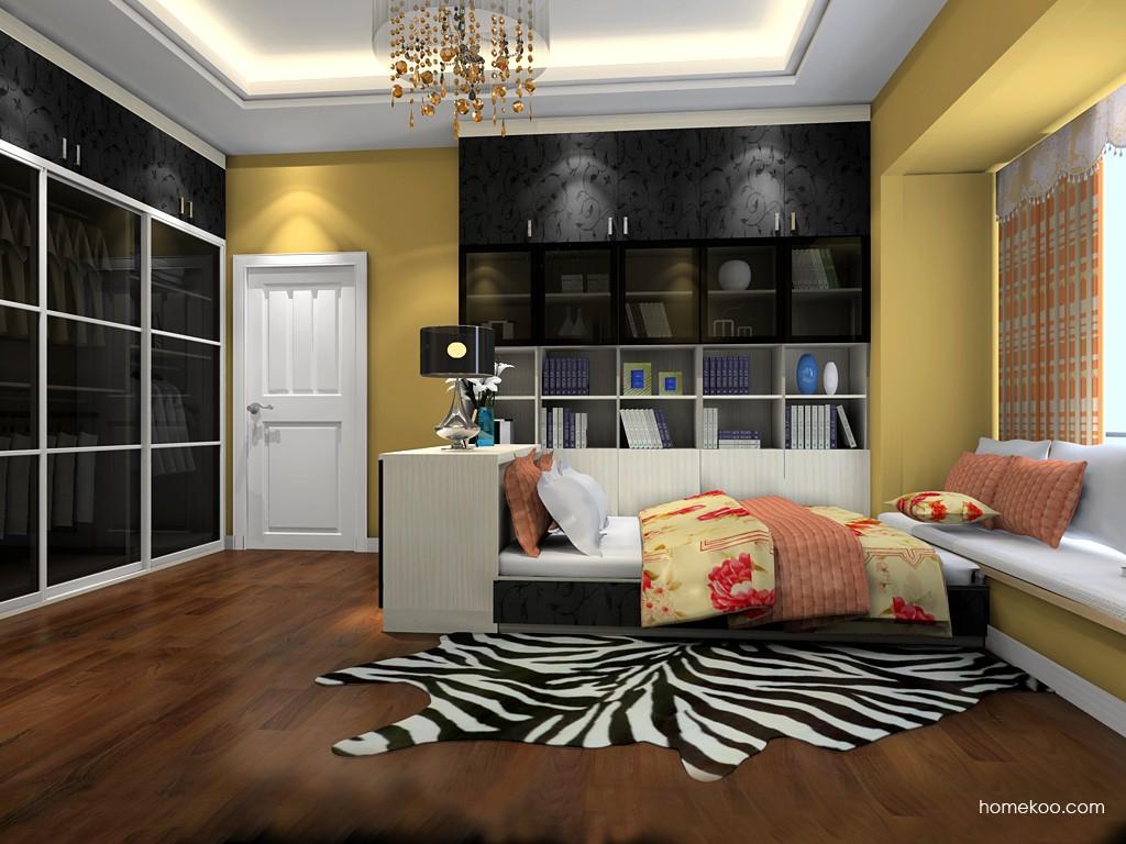 米兰剪影卧房家具A19808