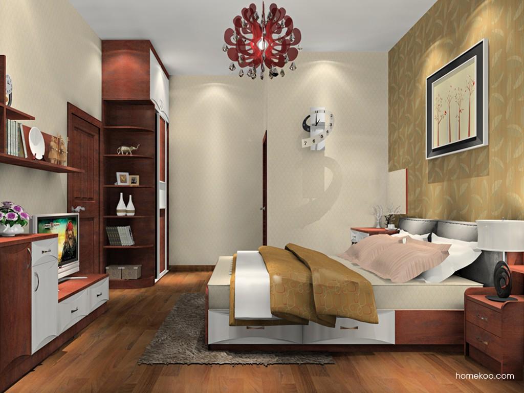 挪威月色卧房家具A19809
