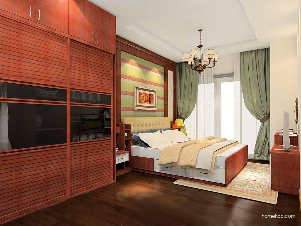 挪威月色卧房家具A19816