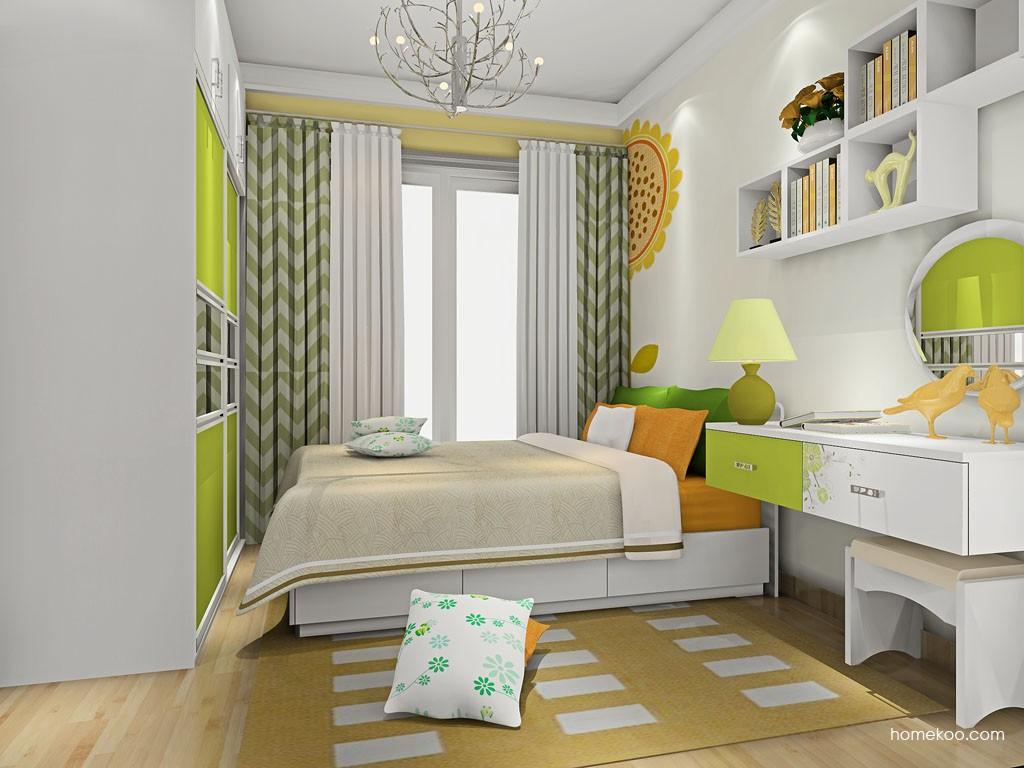 里昂春天卧房家具A19823