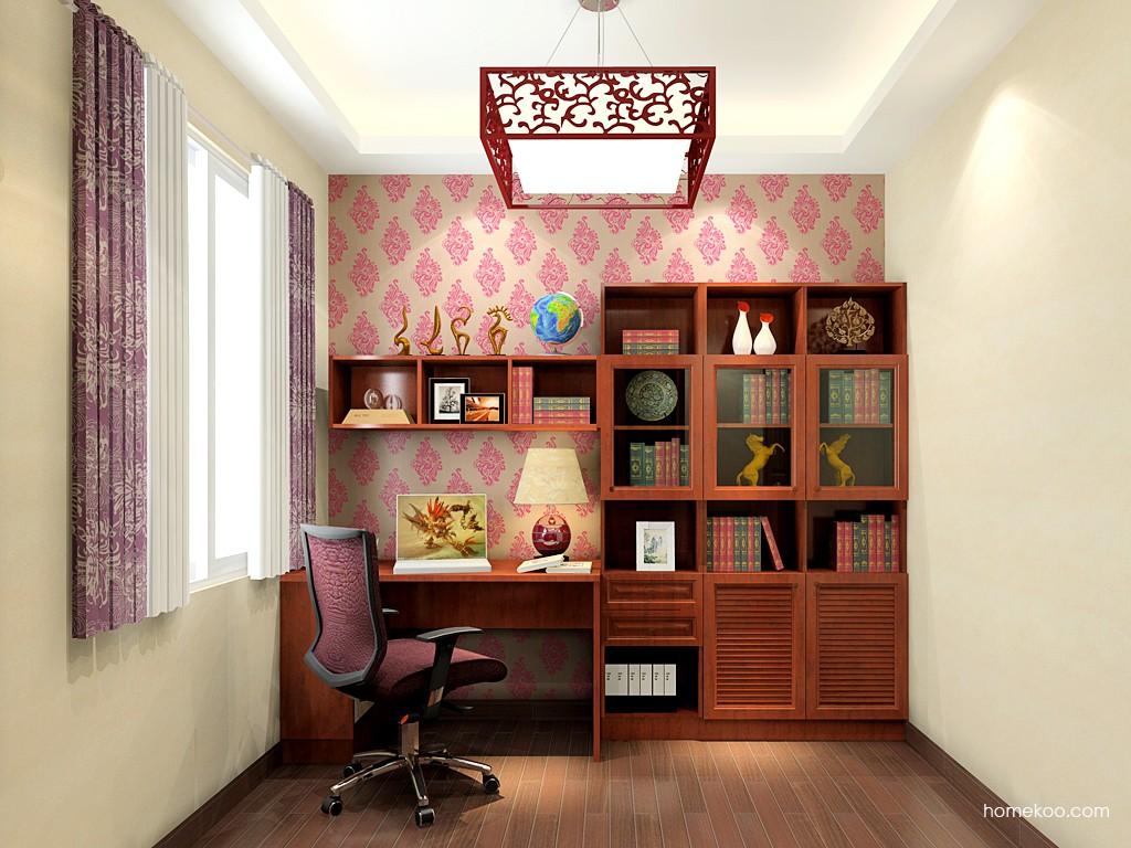 新中式主义书房家具C19535