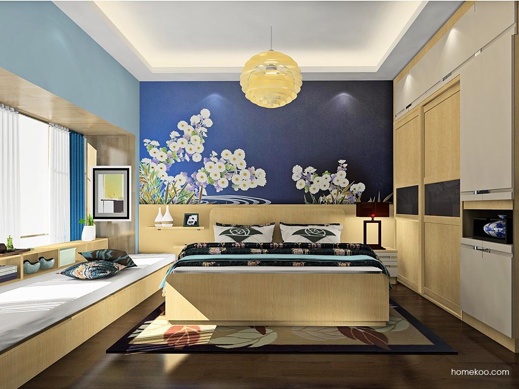 新实用主义卧房家具A19836