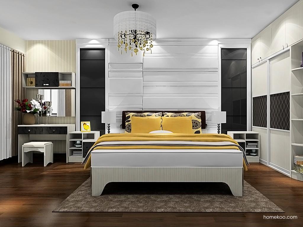 米兰剪影卧房家具A19837