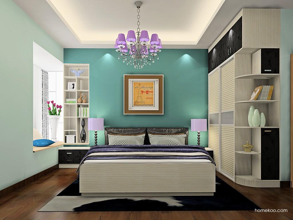 米兰剪影卧房家具A19842