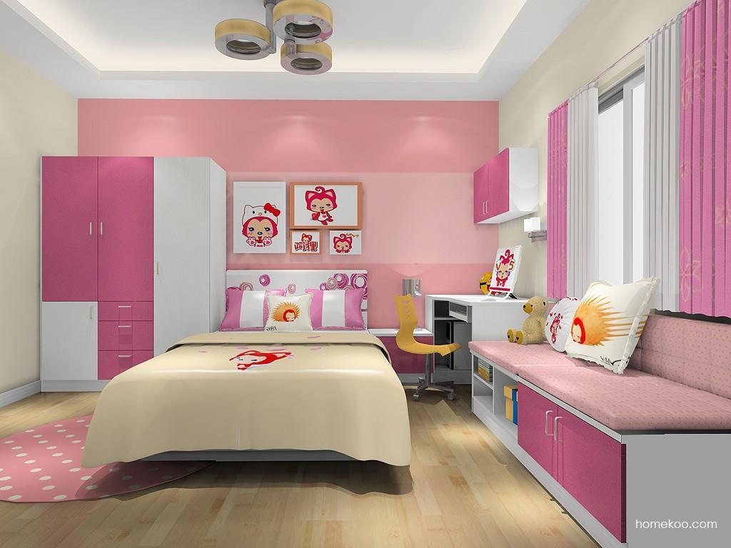 女孩的梦青少年房B19640