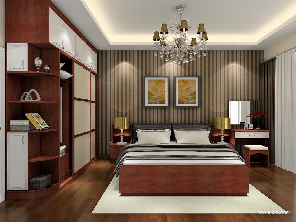 挪威月色卧房家具A19935
