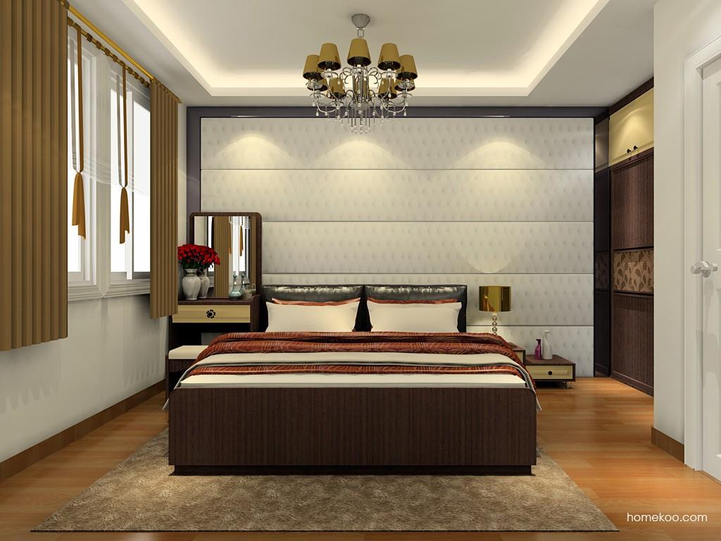 卡罗摩卡卧房家具A19936