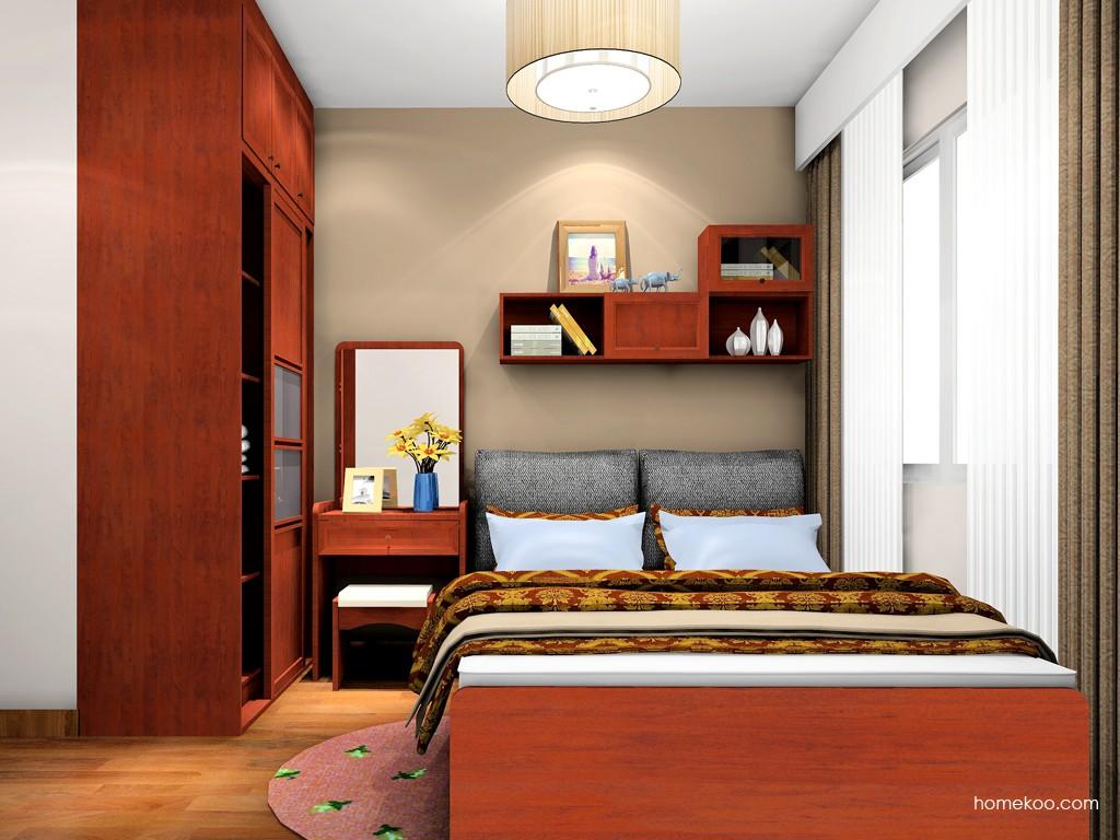新中式主义卧房家具A19939