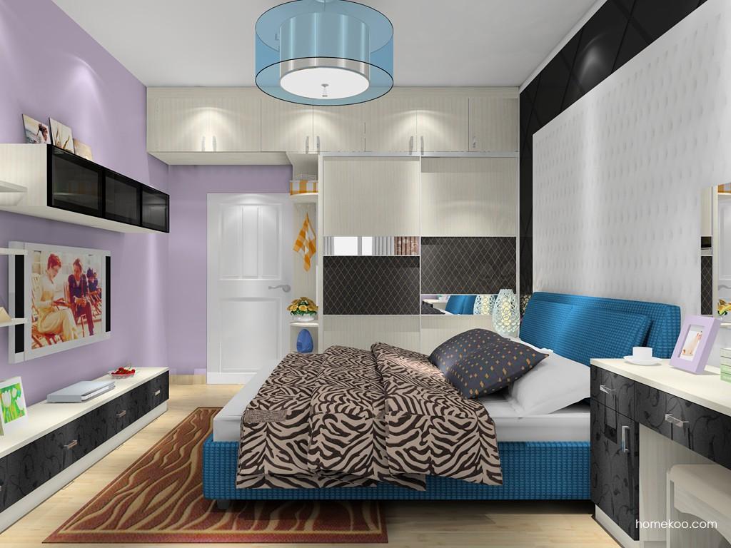 米兰剪影卧房家具A19946