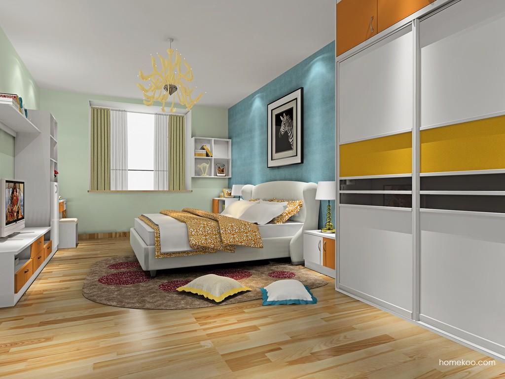 新实用主义卧房家具A19951