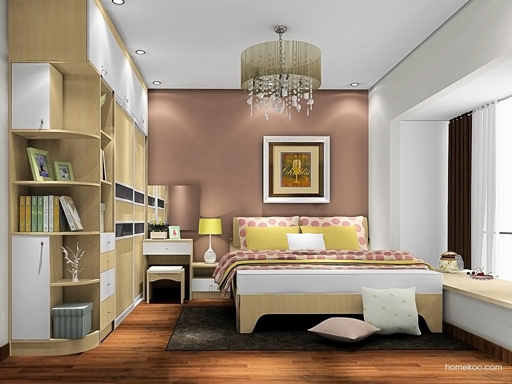 北美枫情卧房家具A19952