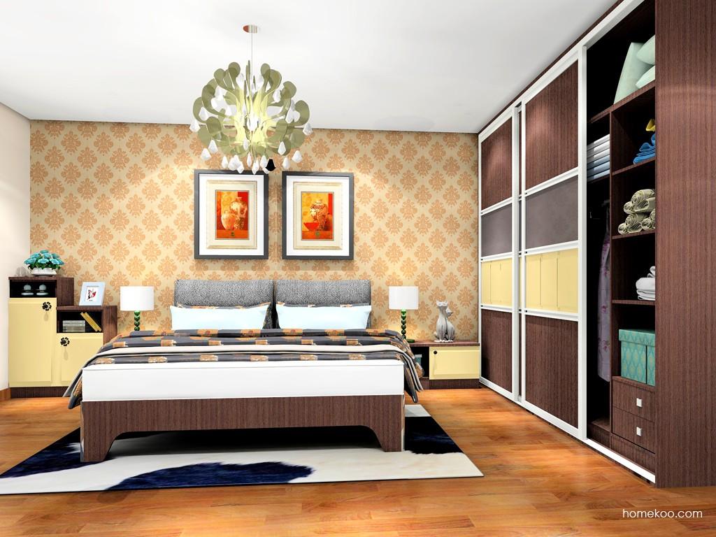 卡罗摩卡卧房家具A19961