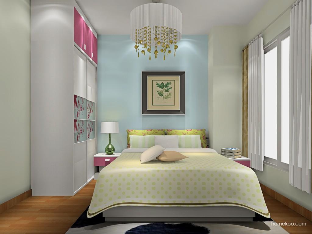 浪漫主义卧房家具A19963