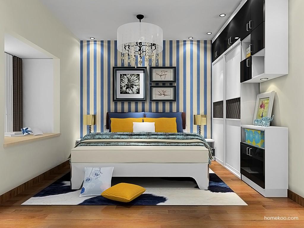 简约主义卧房家具A19966