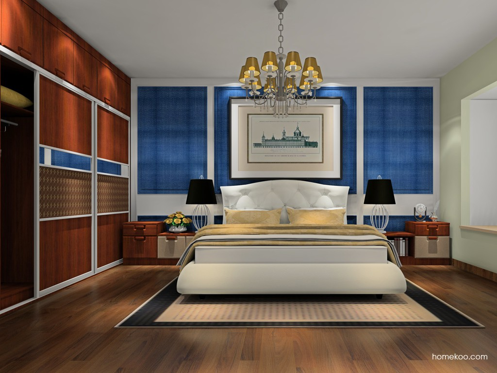 维罗纳史诗卧房家具A19975