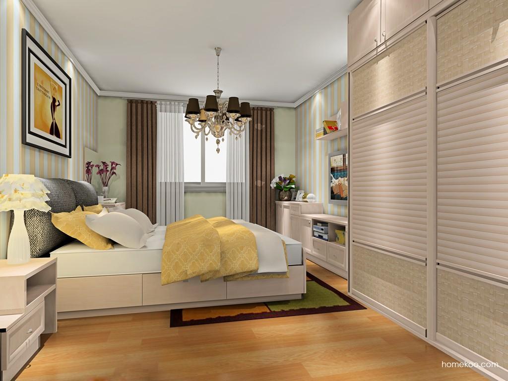 北欧阳光卧房家具A19976