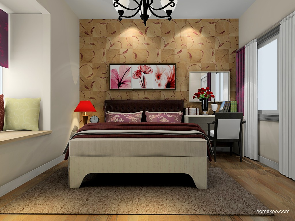 英伦印象卧房家具A19992