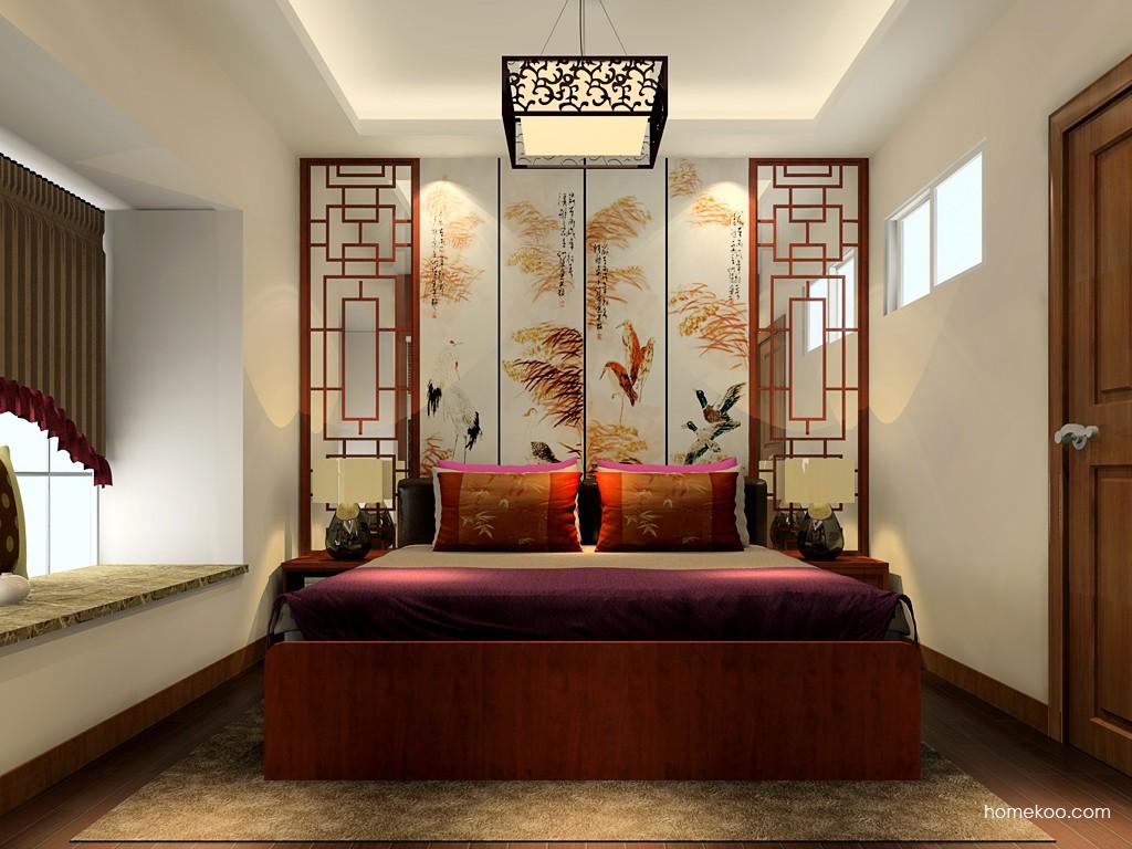 新中式主义卧房家具A19993