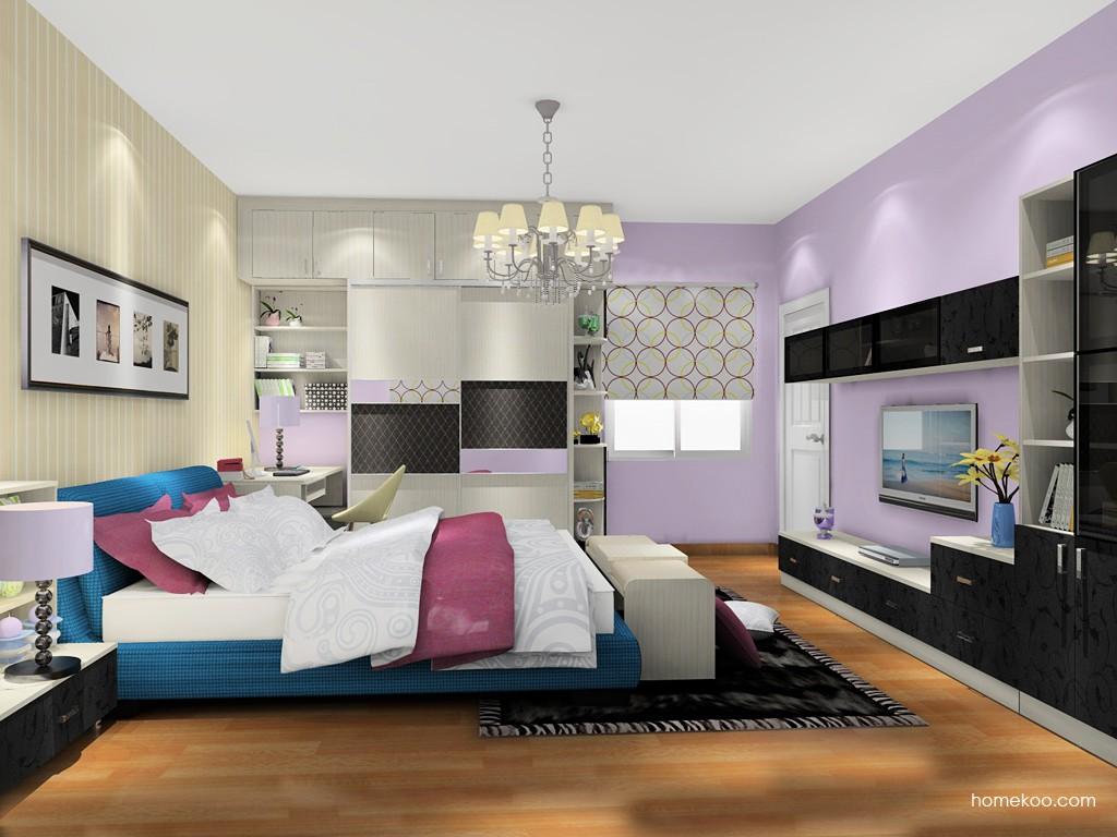 米兰剪影卧房家具A19995