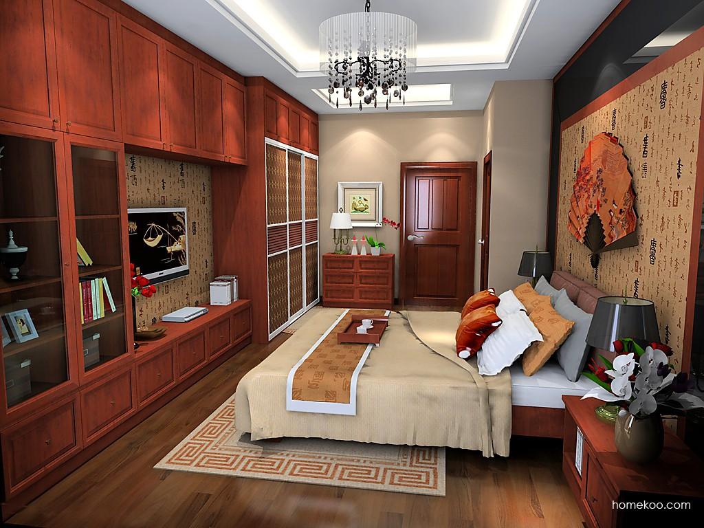 新中式主义卧房家具A19998