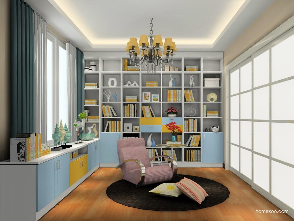 新实用主义书房家具C19652