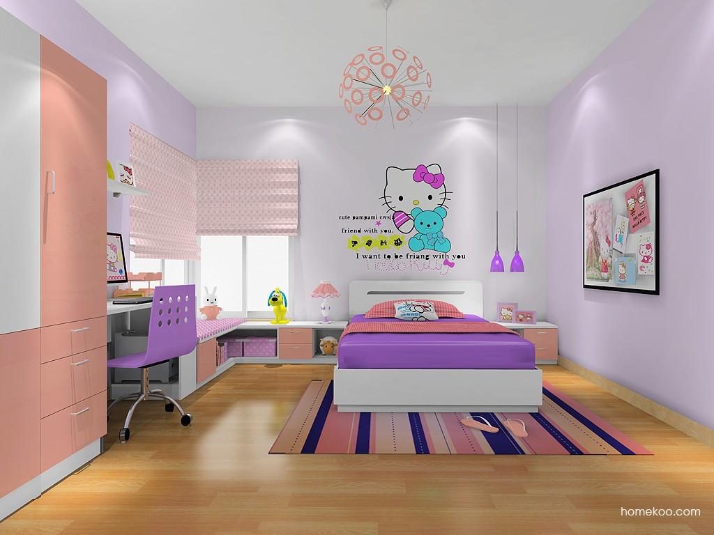 女孩的梦青少年房B19767