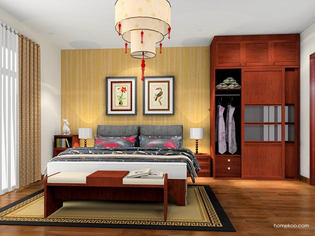 新中式主义卧房家具A20017