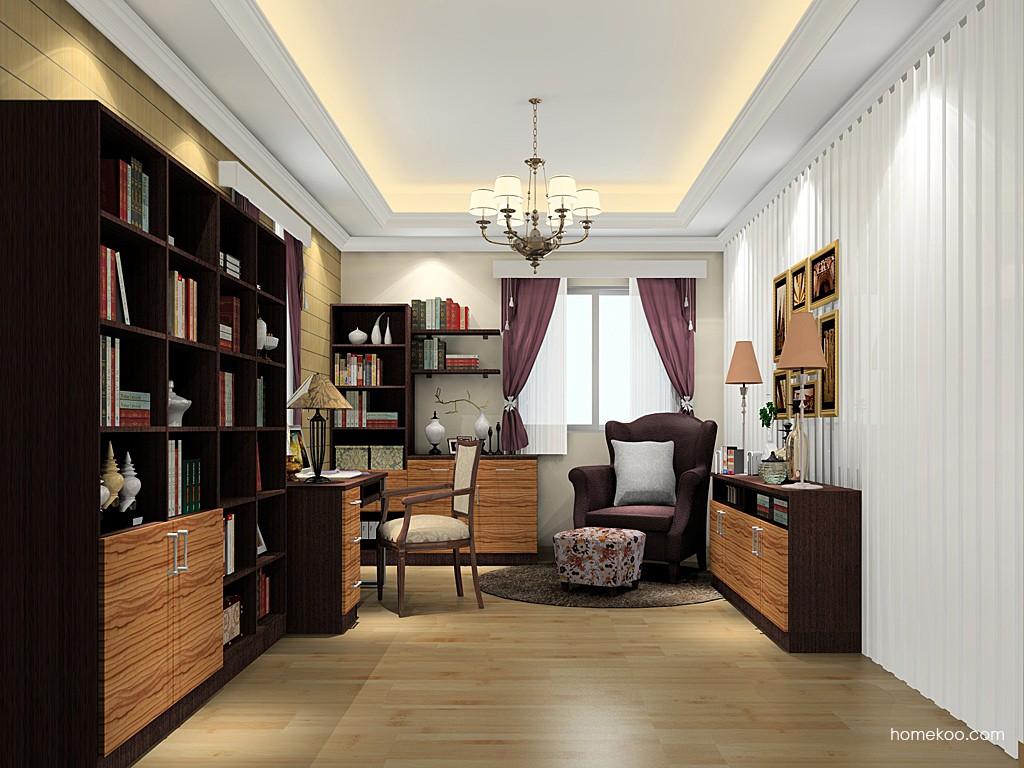 新实用主义书房家具C19662