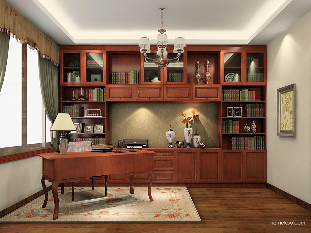 新中式主义书房家具C19673