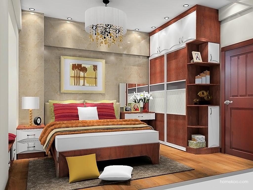 挪威月色卧房家具A20064