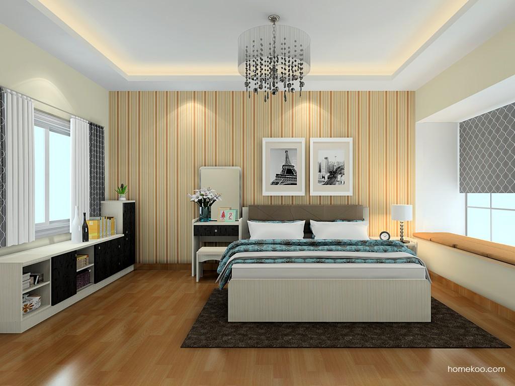 米兰剪影卧房家具A20083