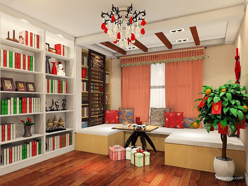 新实用主义书房家具C19702